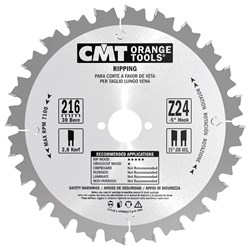 Picture of wood cutting blade 290.250.24M CMT