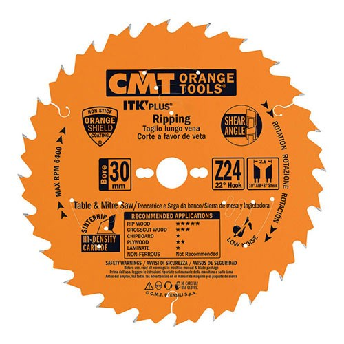 Picture of wood cutting blade 271.216.36M CMT